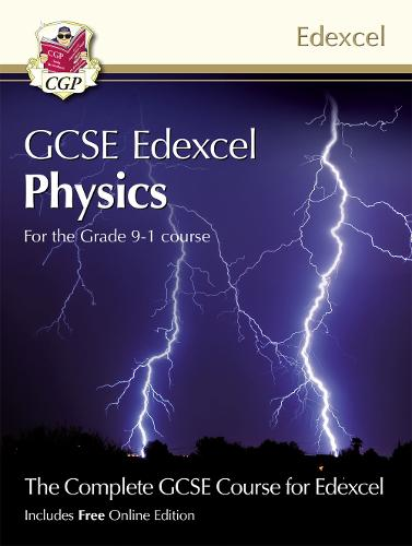 Grade 9-1 GCSE Physics for Edexcel: Student Book with Online Edition (Paperback)
