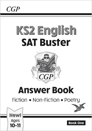 KS2 English Reading SAT Buster: Answer Book 1 (for the 2020 tests) (Paperback)