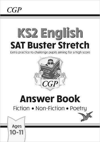 New KS2 English Reading SAT Buster Stretch: Answer Book (for tests in 2018 and beyond) (Paperback)