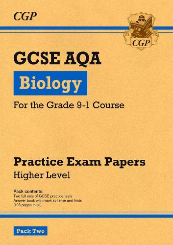 New Grade 9-1 GCSE Biology AQA Practice Papers: Higher Pack 2 (Paperback)