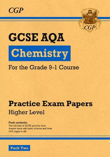 Grade 9-1 GCSE Chemistry AQA Practice Papers: Higher Pack 2 (Paperback)