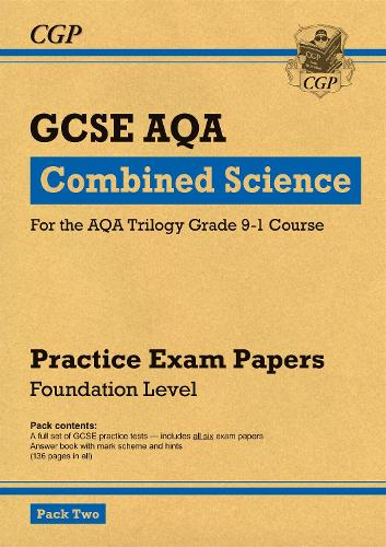 New Grade 9-1 GCSE Combined Science AQA Practice Papers: Foundation Pack 2 (Paperback)