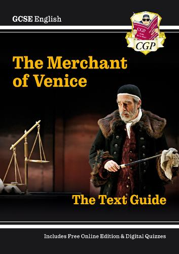 Grade 9-1 GCSE English Shakespeare Text Guide - The Merchant of Venice (Paperback)