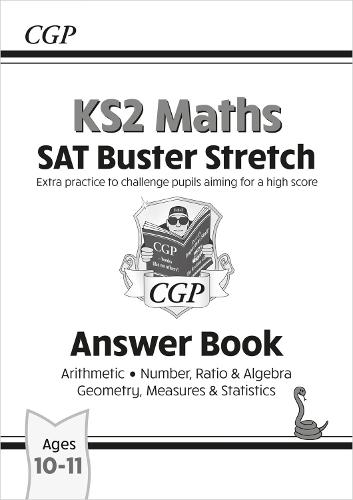 New KS2 Maths SAT Buster Stretch: Answer Book (for tests in 2019) (Paperback)