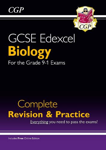 New Grade 9-1 GCSE Biology Edexcel Complete Revision & Practice with Online Edition (Paperback)