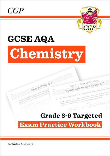 GCSE Chemistry AQA Grade 8-9 Targeted Exam Practice Workbook (includes Answers) (Paperback)