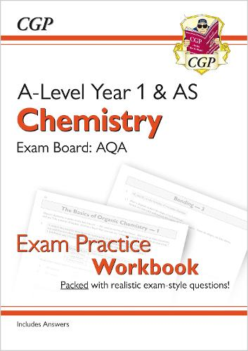 New A-Level Chemistry for 2018: AQA Year 1 & AS Exam Practice Workbook - includes Answers (Paperback)
