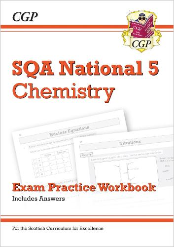 New National 5 Chemistry: SQA Exam Practice Workbook - includes Answers (Paperback)