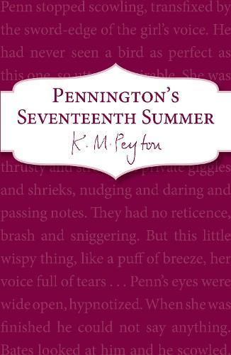 Pennington's Seventeenth Summer: Book 1 - Pennington (Paperback)