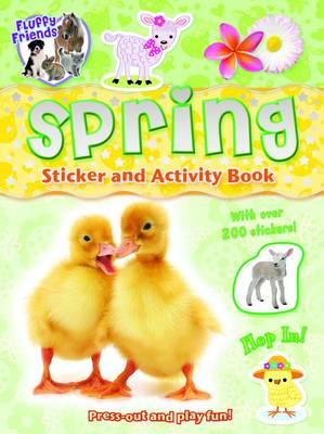 Spring Sticker Activity - Fluffy Friends (Paperback)