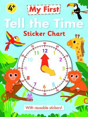 Tell the Time Sticker Chart (Wallchart)