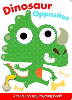 Finger Puppet Pals- Dinosaur Opposites (Board book)