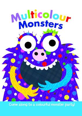 Finger Puppet Pals- Multicolour Monsters (Board book)