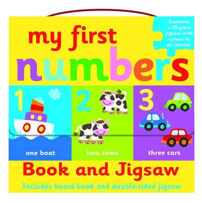 My First Numbers- Book and Jigsaw Puzzle Set