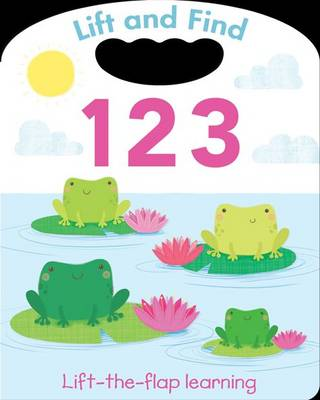 Lift and Find - 123 (Board book)