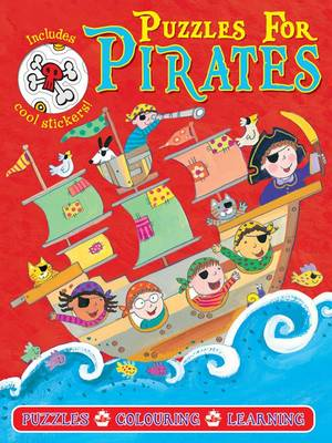 Pirate Puzzles Red (Paperback)