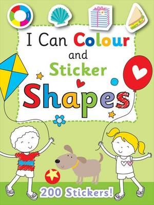 I Can Colour - My First Shapes (Paperback)