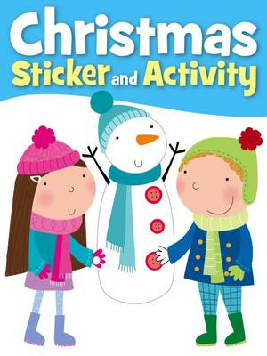 Snowman Christmas Sticker Activity (Paperback)
