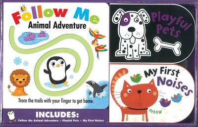 Follow Me Animal Adventure/ Playful Pets/ My First Noises - Box of Fun