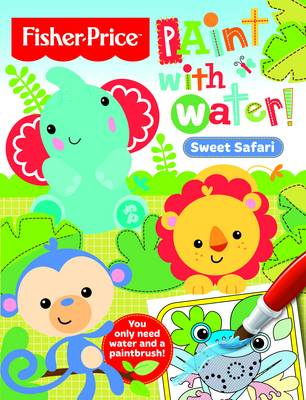 Sweet Safari - Paint with Water (Paperback)
