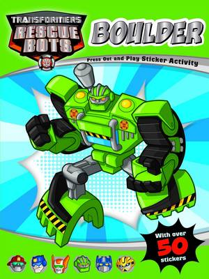 Boulder - Transformers Rescue Bots Press Out and Play (Paperback)