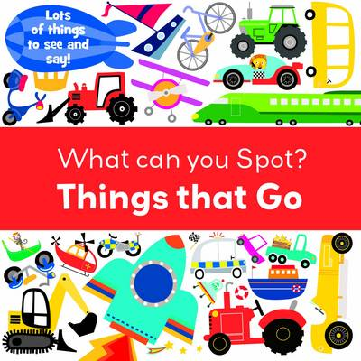 Things That Go - Look and Learn (Board book)