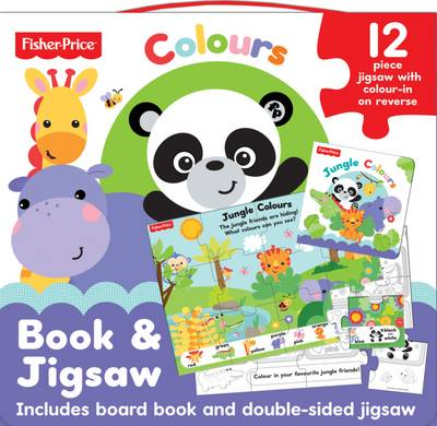 Fisher Price Jungle Colours Jigsaw Set