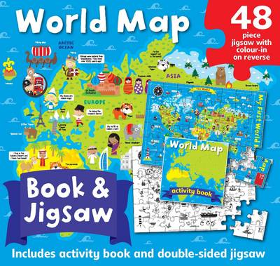 World Map Jigsaw Box