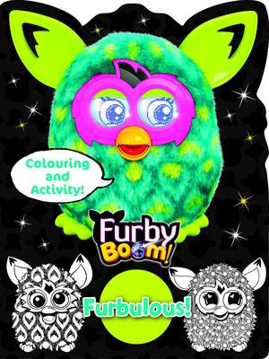 Furby Boom Colouring Book Furbulous (Paperback)