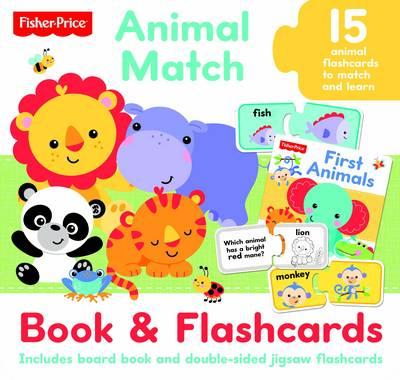 Fisher Price Jigsaw Flashcards Animal Match