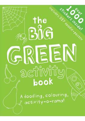My Big Green Activity Book - Sticker Activity Book (Paperback)