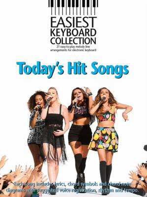 Easiest Keyboard Collection: Today's Hit Songs (Paperback)