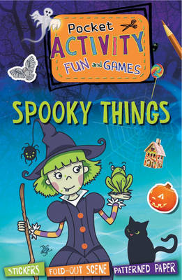 Pocket Activity-Spooky Things (Paperback)