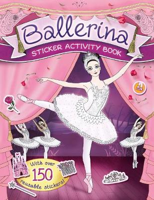 Ballerina Sticker Activity Book (Paperback)