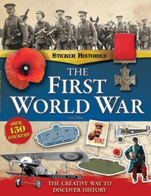 First World War Sticker History Book (Paperback)