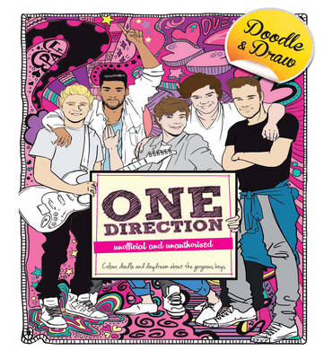 Doodle and Draw Heartthrobs: One Direction (Paperback)