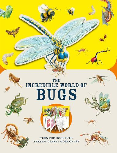 Paperscapes: The Incredible World of Bugs (Hardback)