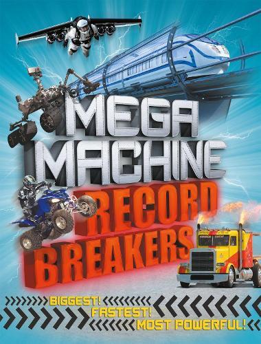 Mega Machine Record Breakers (Paperback)