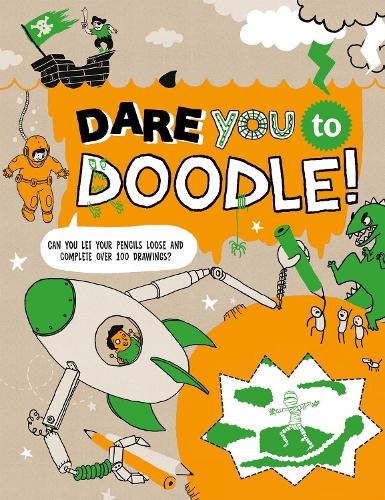 Dare You To Doodle (Paperback)