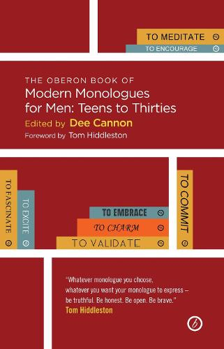 The Oberon Book of Modern Monologues for Men, Volume 3: Teens to Thirties - Oberon Modern Plays (Paperback)