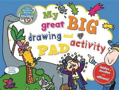 My Great Big Drawing and Activity Pad (Hardback)