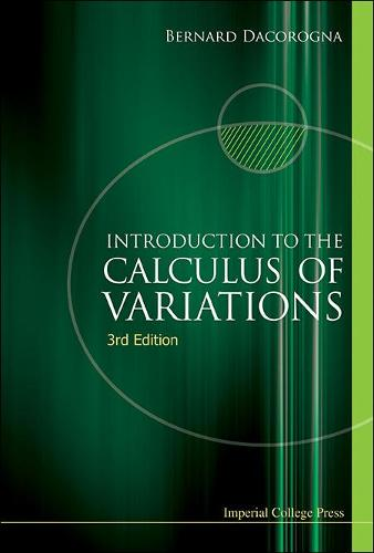 Introduction To The Calculus Of Variations (3rd Edition) (Hardback)