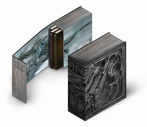 The Skyrim Library: Volumes I, II & III (Box Set) (Hardback)