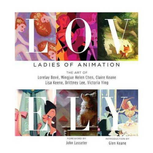 Lovely: Girls of Animation (Hardback)