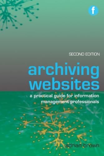 Archiving Websites (Paperback)