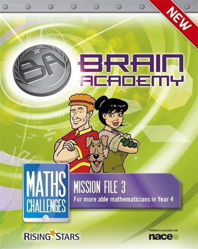 Brain Academy: Maths Challenges Mission File 3 - Brain Academy Maths (Paperback)
