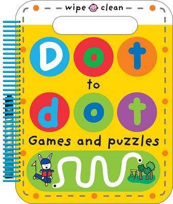 Dot to Dot Games and Puzzles: Wipe Clean Spirals (Paperback)
