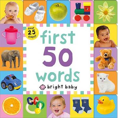 First 50 Words: Lift the Flap Tab - Lift The Flap Tab (Board book)