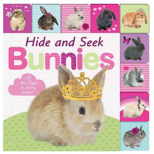 Hide and Seek Bunnies: Lift The Flap Tab - Lift The Flap Tab (Board book)