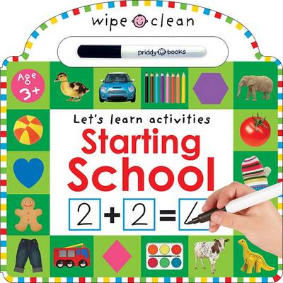 Starting School: Wipe Clean Workbooks (Board book)